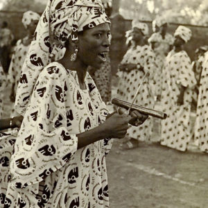 Brenda Gael McSweeney, First International Women's Day, March 8th 1975, Upper Volta, now Burkina Faso, West Africa, B&W SLR photograph, 11 x 14 inches, private collection - not for sale
